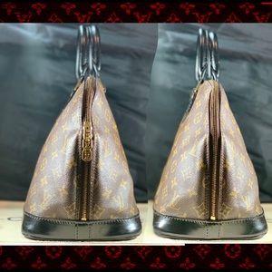 Louis Vuitton Bags - ♥️CUSTOM ALMA♥️ Vintage LV with Satin Noir Trim